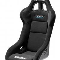 Sparco Evo II QRT Seat – Black | 008008RNR