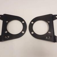FDF Hyundai Genesis dual caliper brackets