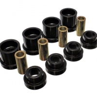 Energy Suspension Rear Subframe Bushing Set – Black – 95-98 Nissan 240SX (S14) | 7.1117G