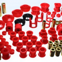 Energy Suspension Hyper-Flex Master Bushing Set (RED) | 89-94 Nissan 240SX (S13) | 7.18106R