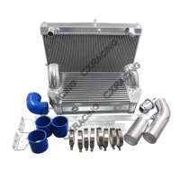 CX Racing Intercooler and Radiator V-Mount Kit for Mazda RX7 FD