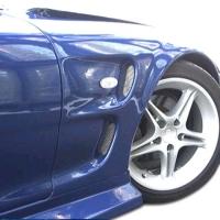 Duraflex 1993-1997 Mazda RX-7 Duraflex D-1 Sport Front Fenders – 2 Piece