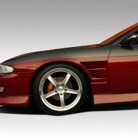 Duraflex B-Sport Front Fender – 2 Piece – 1995-1996 Nissan 240sx S14