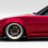 Duraflex 1990-1997 Mazda Miata Duraflex Circuit Front Fender Flares – 2 Piece