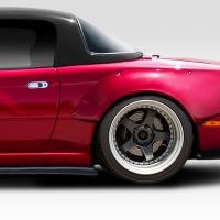 Duraflex 1990-1997 Mazda Miata Duraflex Circuit Rear Fender Flares – 2 Piece