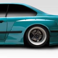 Duraflex Circuit Rear Fender Flares – 2 Piece – BMW E36 M3 2DR