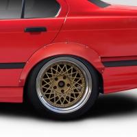 Duraflex RBS Rear Fender Flares – 2 Piece – BMW E36