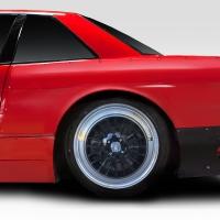 Duraflex RBS V1 30mm Rear Fenders – 2 Piece – 1989-1994 Nissan 240sx S13 2DR