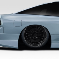 Duraflex B Sport Wide Body 70MM Rear Fender Flares – 2 Piece – 1989-1994 Nissan 240sx S13 HB
