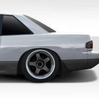 Duraflex D Sport 30mm Rear Fender Flares – 2 Piece – 1989-1994 Nissan 240sx S13 2DR Coupe