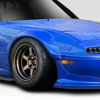 Duraflex 1990-1997 Mazda Miata Duraflex TKO RBS Wide Body Rear Fender Flares – 2 Piece