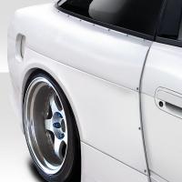 Duraflex V Speed Wide Body Rear Fenders – 3 Piece – 1989-1994 Nissan 240sx S13 HB
