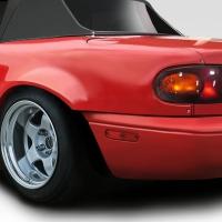 Duraflex 1990-1997 Mazda Miata Duraflex Afterburner 40mm Rear Fender Flares – 2 Piece