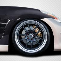 Carbon Creations 2009-2020 Nissan 370Z Z34 Carbon Creations Circuit Fenders – 2 Piece