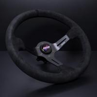 DND Performance 350MM Alcantara Race Wheel – Black Stitch