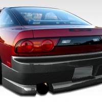 Duraflex GP-1 Rear Bumper Cover – 1989-1994 Nissan 240SX S13 HB – 1 Piece