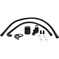 Mishimoto Ford 6.4L Powerstroke Baffled Oil Catch Can Kit, 2008–2010