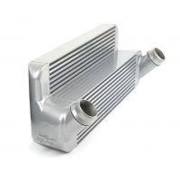 CSF Racing N54/N55 High Performance Stepped Intercooler – Silver