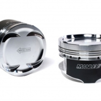 Manley 87.0mm +2.0mm Over Bore 100mm Stroker 8.5:1 Dish Pistons w/ Rings – 03-06 Evo 8/9 4G63T