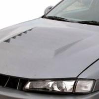 Duraflex D-1 FRP Vented Hood – 1997-1998 Nissan 240SX S14 Kouki