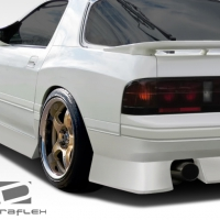 Duraflex B-Sport Wide Body Rear Fender Flares – 1986-1991 Mazda RX-7 – 2 Piece (S)