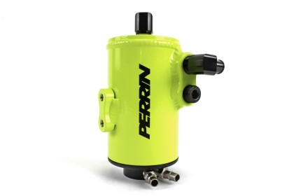 Perrin 08-14 Subaru WRX/STI Air Oil Seperator – Neon Yellow