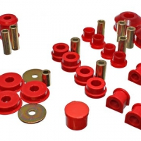 Energy Suspension Red Hyper-flex Master Bushing Set – 03-05 Mitsubishi Lancer EVO 8