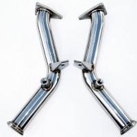 Invidia 09+ Nissan 370z G37 60mm Test Pipes w/ Bracket
