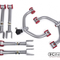Kinetix 07+ G35, G37, 370Z Front A-Arms, Rear Camber & Traction Package