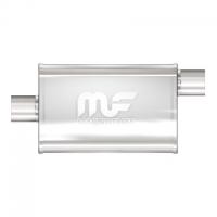 MagnaFlow 4″ X 9″ Oval Center/Offset Straight Through Performance Muffler