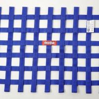 Racequip SFI Ribbon Window Net – Blue