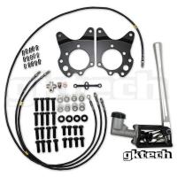 GKTech Hydraulic E-Brake Setup – Nissan Z33 350z / Z34 370z