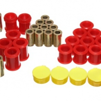 Energy Suspension 95-98 Nissan 240SX (S14) Red Rear Control Arm Bushing Set