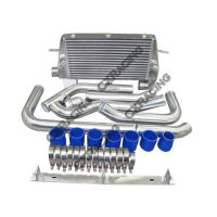 CX Racing Front Mount Intercooler Kit for 86-92 Toyota Supra MK III with 7MGTE Engine