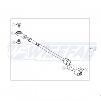 Wisefab Nissan 350Z Left Tie Rod Assembly