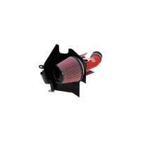 K&N Typhoon Short Ram Intake – Wrinkle Red – 02-07 Subaru WRX/STI