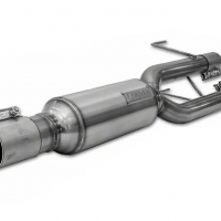 Carven 09-18 RAM 1500 5.7L V8 (Dual Tailpipe) Progressive Series Muffler 304SS (No Tips Included)