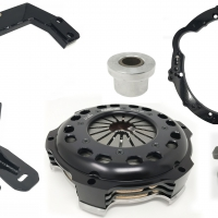 Collins 350Z / G35 Chassis to JZ Engine (CD009) Stage 5 (850ftlbs) Swap Kit with 350Z G35 Crossmember and Engine Mounts