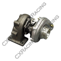 CX Racing T3 T04E Turbo Charger, .50 AR Compressor, .63 AR Turbine , 5 Bolt Exhuast, 3″ Inlet & 2″ Outlet