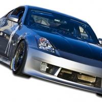 Duraflex 2003-2008 Nissan 350Z Z33 Duraflex V-Speed Body Kit – 4 Piece