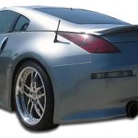 Duraflex  2003-2008 Nissan 350Z Z33 V-Speed Rear Bumper Cover – 1 Piece