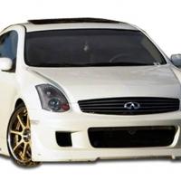 Duraflex  2003-2007 Infiniti G Coupe G35 Type G Front Bumper Cover – 1 Piece