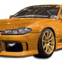 Duraflex 1999-2002 Nissan Silvia S15 M-1 Sport Front Bumper Cover – 1 Piece