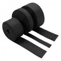PTP Black Lava Exhaust Wrap – 2″ x 50′