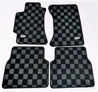 P2M SUBARU WRX GDA GDB RACE FLOOR MATS (FRONT/REAR 4 PCS SET) : DARK GREY
