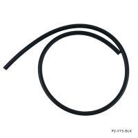 P2M VACUUM HOSE :  6MM ID, 2MM THICKNESS BLACK – PRICED PER FOOT
