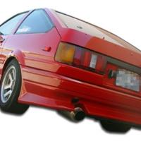 Duraflex 1984-1987 Toyota Corolla 2DR / HB V-Speed Rear Bumper