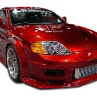 Duraflex 2003-2006 Hyundai Tiburon Poison Flared Front Bumper