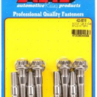 ARP Sport Compact M10 x 1.25 x 48mm Stainless Accessory Studs (8 pack)