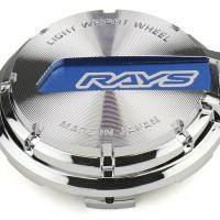 Gram Lights WR Center Cap (Blue/Chrome) (57CR / 57DR)